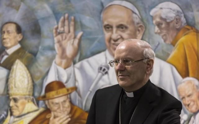 Monsignor Nunzio Galantino, segretario generale della Conferenza episcopale italiana