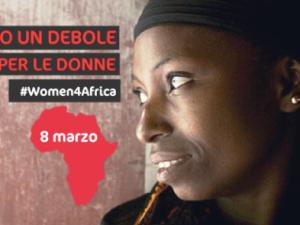 La campagna di Amref in occasione della Giornata internazionale della donna