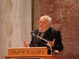 Enzo Bianchi, fondatore e priore della Comunità monastica di Bose