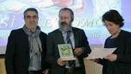 La premiazione di Antonio e Nicoletta Calò