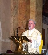 Padre Vincenzo Di Marcoberardino, parroco della Basilica Madonna dei Sette dolori