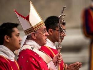Papa Francesco presiede la Santa messa nella solennità dei Santi apostoli Pietro e Paolo