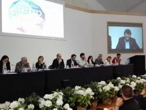 Il presidente di Azione cattolica Matteo Truffelli, pronuncia le conclusioni del Convegno delle Presidenze diocesane