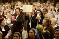 Un momento dell'incontro dell'Unione delle superiori maggiori in Vaticano