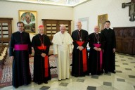 L'incontro della Presidenza del Consiglio delle conferenze episcopali d'Europa con Papa Francesco
