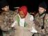 Un migrante soccorso dai militari italiani