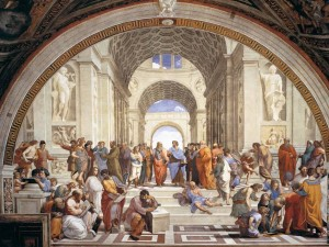 raffaello-sanzio-la-scuola-di-atene-affresco-1509-1511-ca-stanza-della-signatura-musei-vaticani