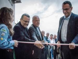 """Il taglio del nastro della Casa """"Angelo custode"""", alla presenza del sindaco di Pescara Marco Alessandrini"""