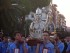 Il busto argenteo di San Cetteo in processione