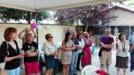 Un momento della festa al Parco di Villa Sabucchi