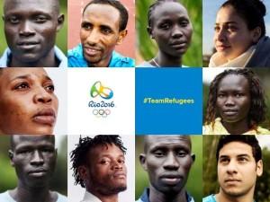 La squadra olimpica dei rifugiati di Rio 2016