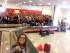 Il selfie dei primi 300 giovani pescaresi rientrati lunedì dalla Gmg di Cracovia, all'Aeroporto d'Abruzzo