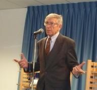 Domenico Valente, presidente della sezione pescarese di Italia nostra