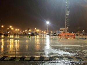 L'area di risulta davanti la stazione ferroviaria di Pescara centrale