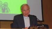 Il professor Amedeo Cencini, docente di Psicologia durante la sua prolusione