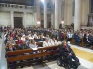 La Cattedrale di San Cetteo gremita durante la Santa messa