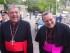 Il cardinale Crescenzio Sepe insieme all'arcivescovo Tommaso Valentinetti