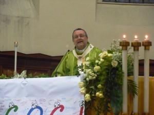 Mons. Tommaso Valentinetti, arcivescovo di Pescara-Penne, presiede il Giubileo dei cori