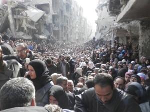 L'esodo dei siriani in fuga dalla guerra