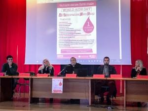 I relatori del convegno pescarese nella Giornata mondiale contro l'Aids