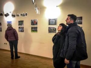 La mostra fotografica allestita presso il Circolo Aternino di Pescara