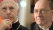 Il cardinale Angelo Bagnasco e il reverendo anglicano Christopher Hill