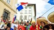 La delegazione panamense durante l'ultima Gmg di Cracovia