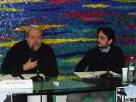 Silvio Tessari con Corrado De Dominicis