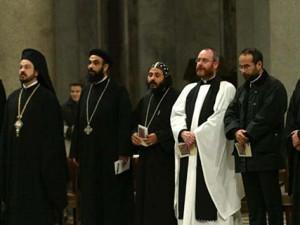 PREGHIERA CONCLUSIVA DELLA SETTIMANA PER LA UNITA' DEI CRISTIANI  NELLA BASILICA DI SAN PAOLO