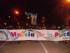 Lo striscione di apertura della Marcia diocesana per la pace 2017