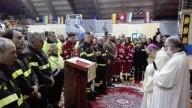 L'arcivescovo Valentinetti dedica una preghiera ai soccorritori