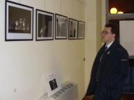 Antonio Blasioli, presidente del Consiglio Comunale di Pescara, visita la mostra