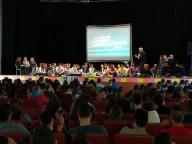 L'Auditorium Flaiano gremito dagli studenti del Liceo Galilei