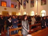 I fidanzati presenti alla Santa messa conclusiva