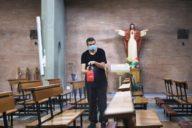 Lavori di sanificazione in otto parrocchie di Pescara